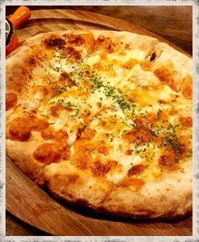 スペイン風ピザ